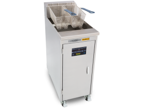 UltraPro 14 Single Vat Gas Commercial Deep Fryer No Filtration System