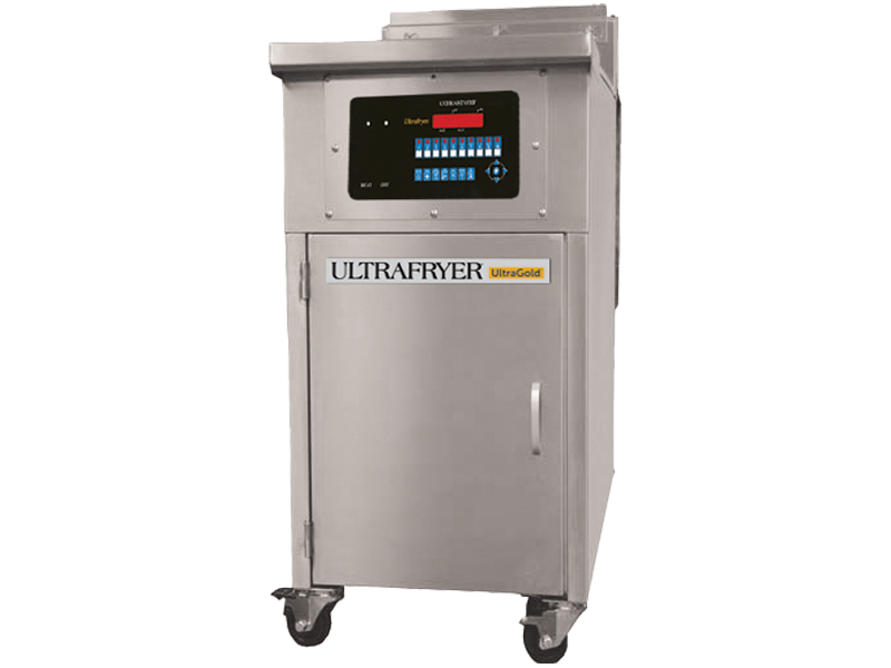 UltraGold E17-14 Single Vat Restaurant Electric Deep Fryer No Filtration