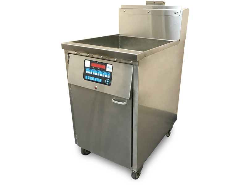 ID-20x17 Jumbo Single Vat Commercial Gas Deep Fryer